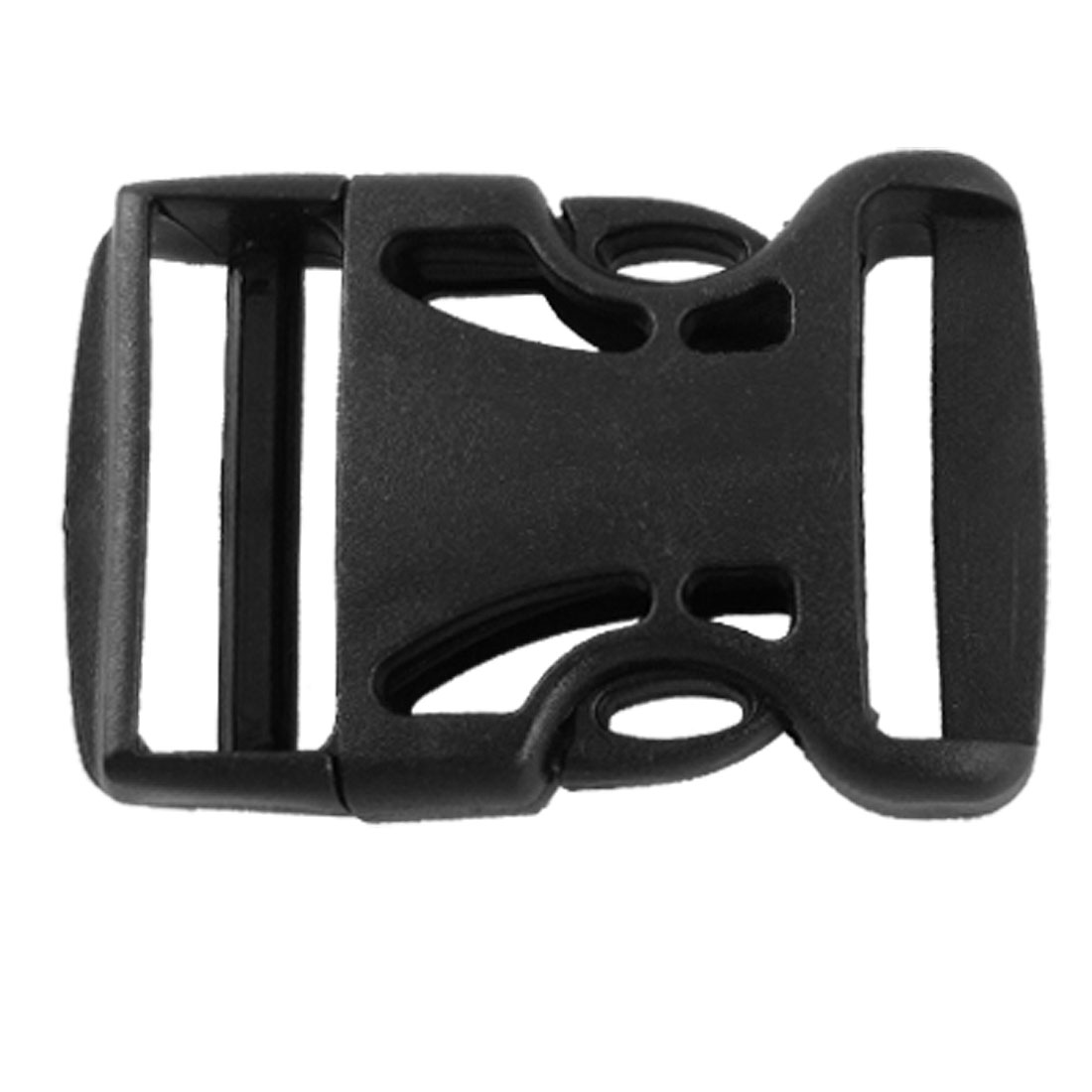 Packbag Black Plastic Side Quick Release Buckle 1 1/2""