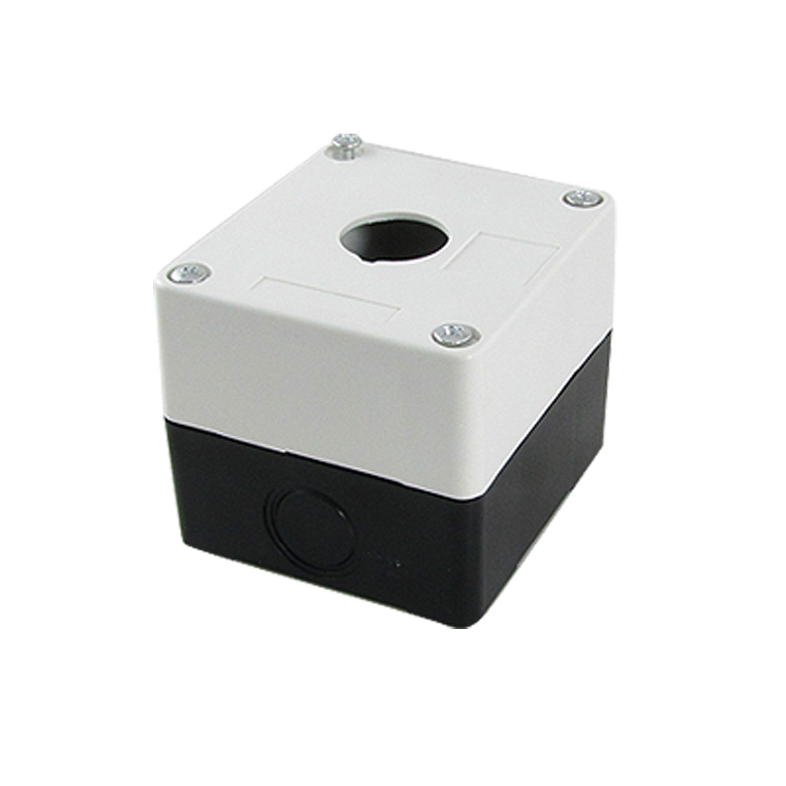 Control Station Plastic 1 Holes Push Button Swith Case Box