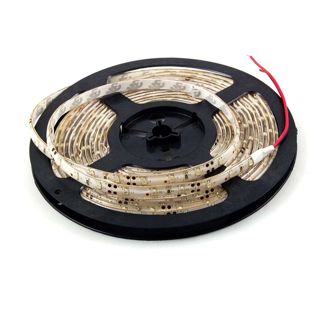 5M Waterpoof Yellow 3528 1210 SMD 300 LED Flexible Strip Light 12V DC