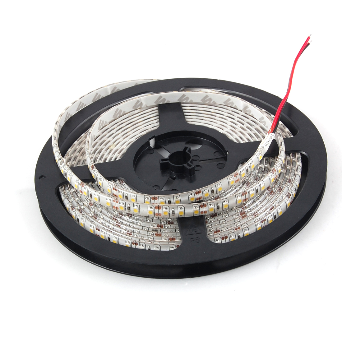 Car Auto 5M 3528 SMD 600 LEDs Flexible Strip White Light DC 12V internal