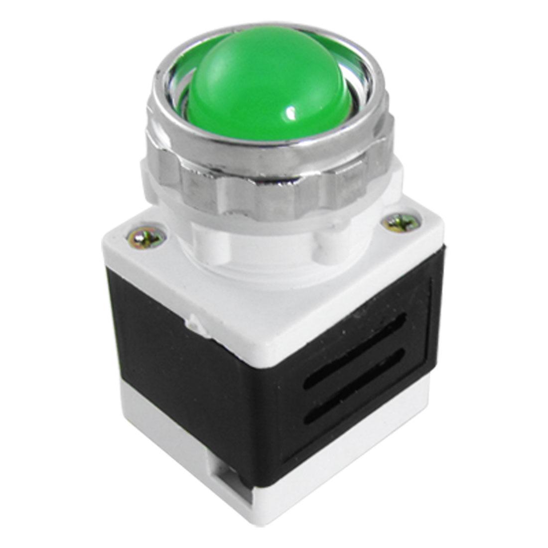 AD11-25/20 AC DC 24V LED Green Ball Signal Indicator Light Lamp
