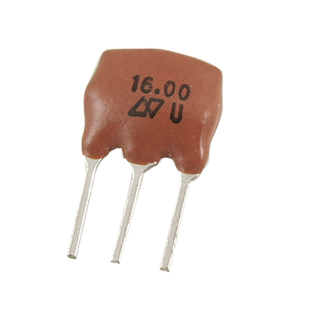 ZTT Series 3 Pins 2.5mm Pitch 16.000 MHz Ceramic Resonators 5 Pcs