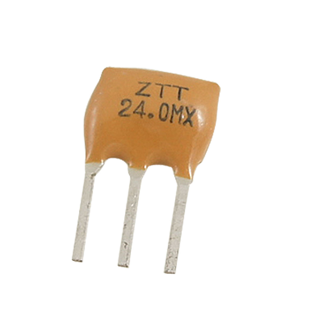 5Pcs Ceramic Filters Crystal Resonators 3 Pin 24.000MHz