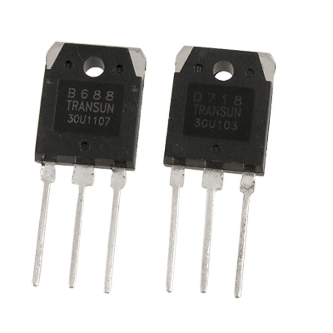 Pair 2SB688 + 2SD718 8A 200V Silicon Power Transistors