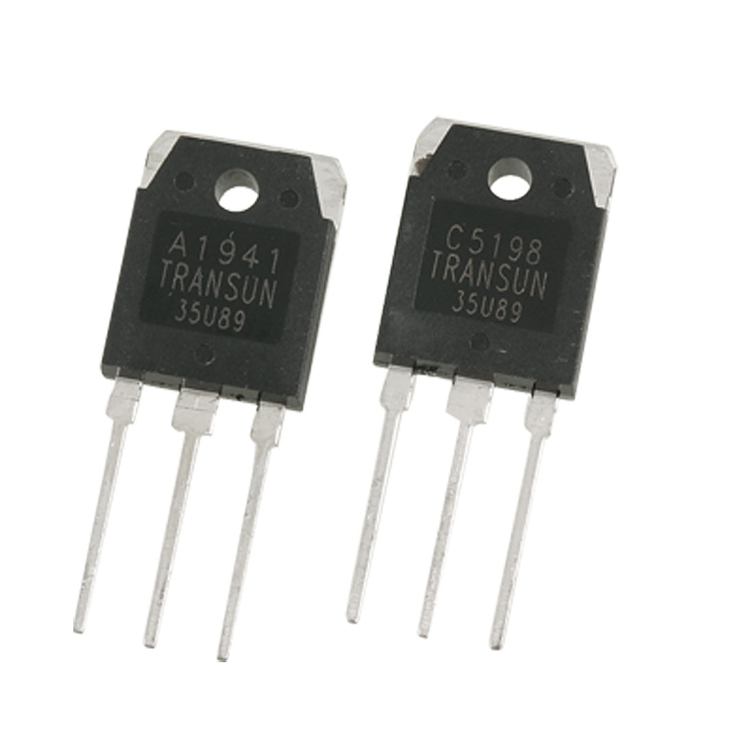 Pair A1941 + C5198 10A 200V Power Amplifier Silicon Transistor