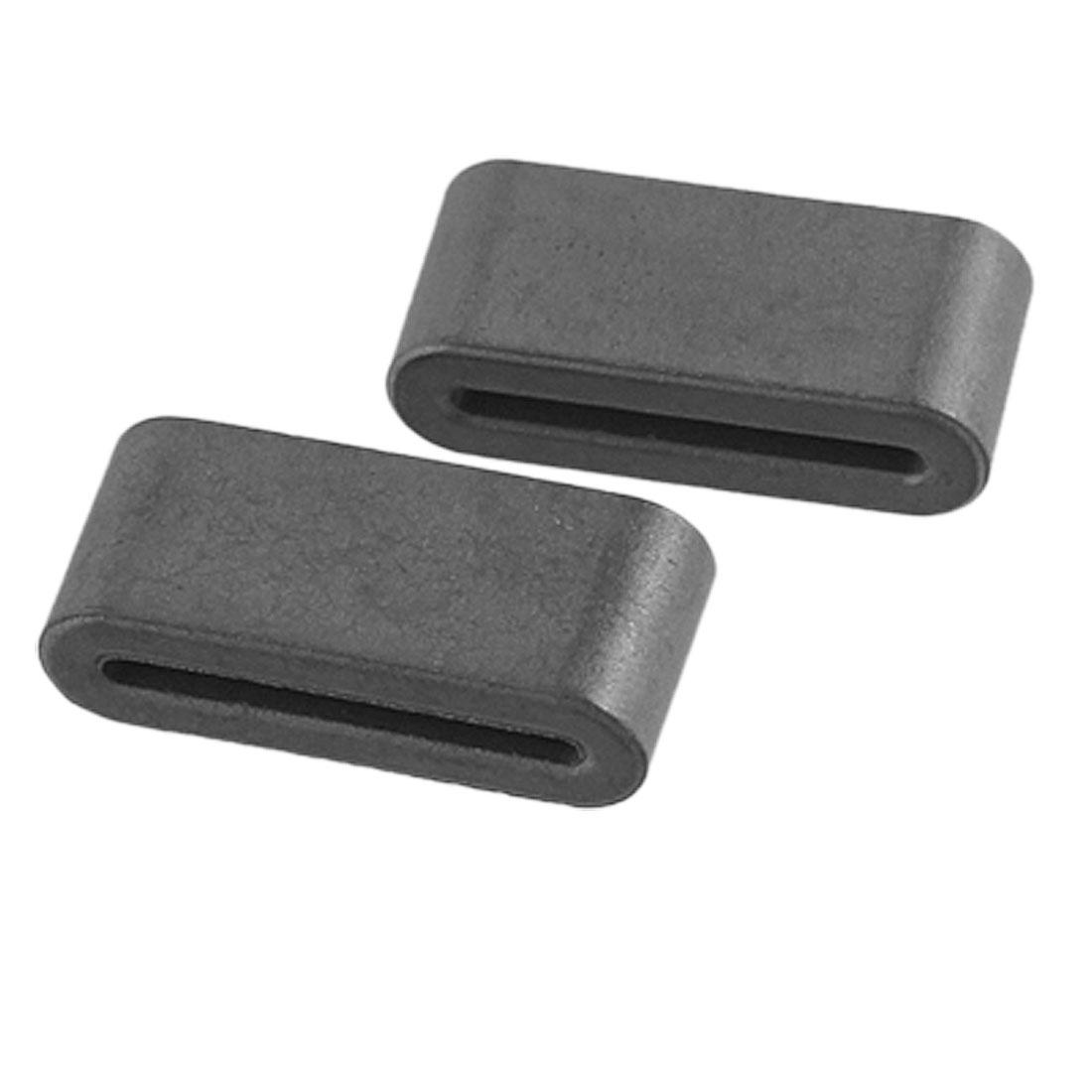 6 Pcs Transformer 14 x 1.5mm Insert Slot Ferrite Flat Cable Cores