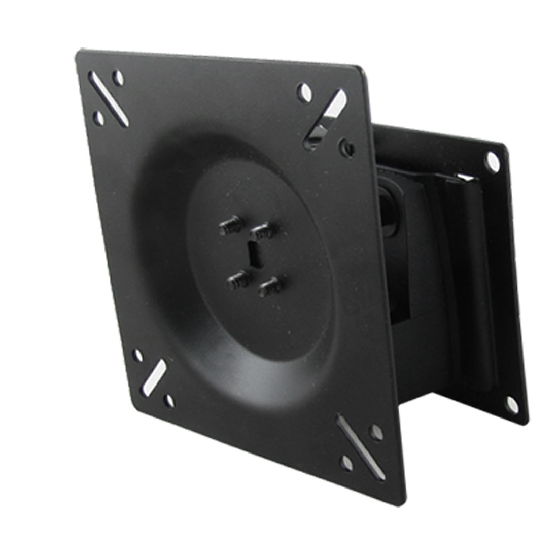 LCD TV Monitor Wall Mount Bracket Metal Stand Rack Black