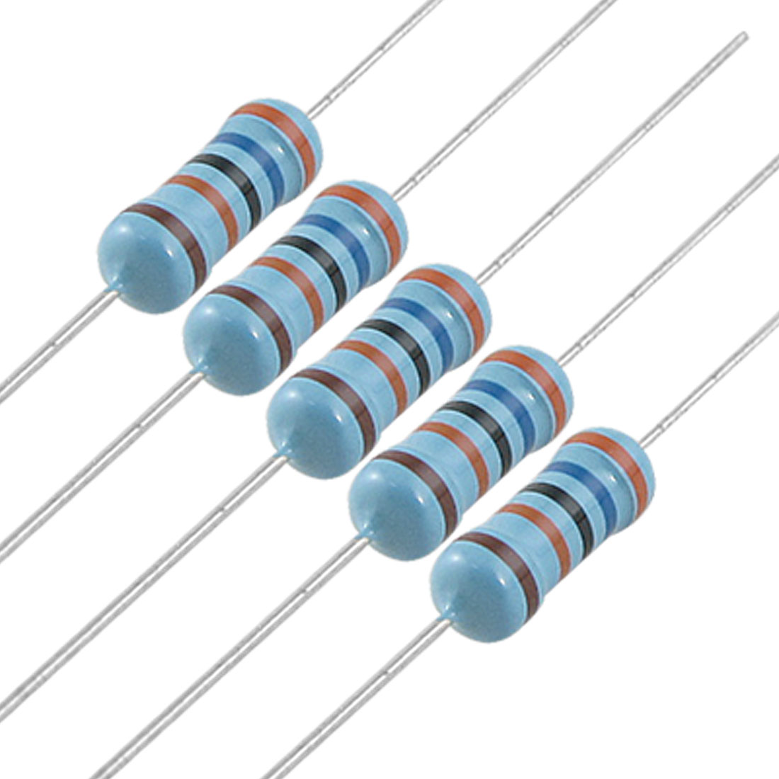 200x 1W 360K Ohm 1% Axial Lead Metal Film Resistors