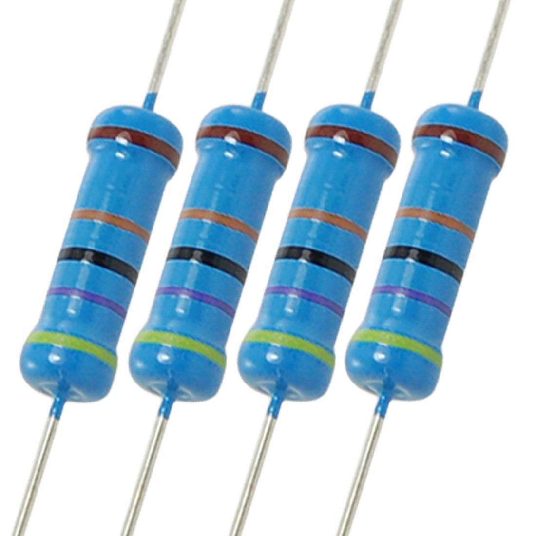 2W 470K Ohm 1% Axial Lead Metal Film Resistors 200 Pcs