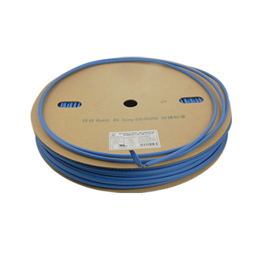 Blue Polyolefin 6.0mm x 100 Meters Heat Shrink Tubes