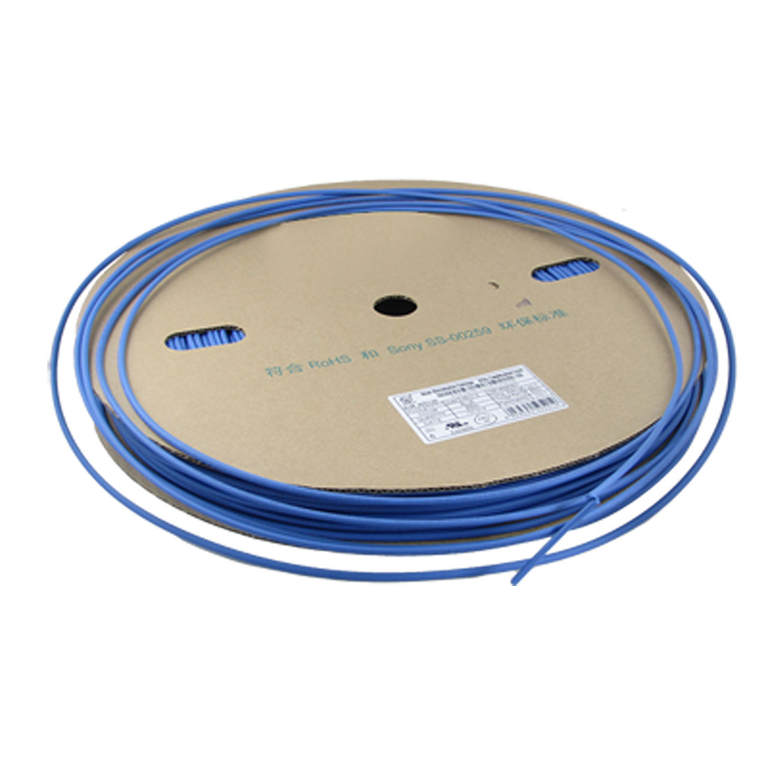 Ratio 2:1 Blue 3.5mm Dia. Sleeving Heat Shrink Tube 200M