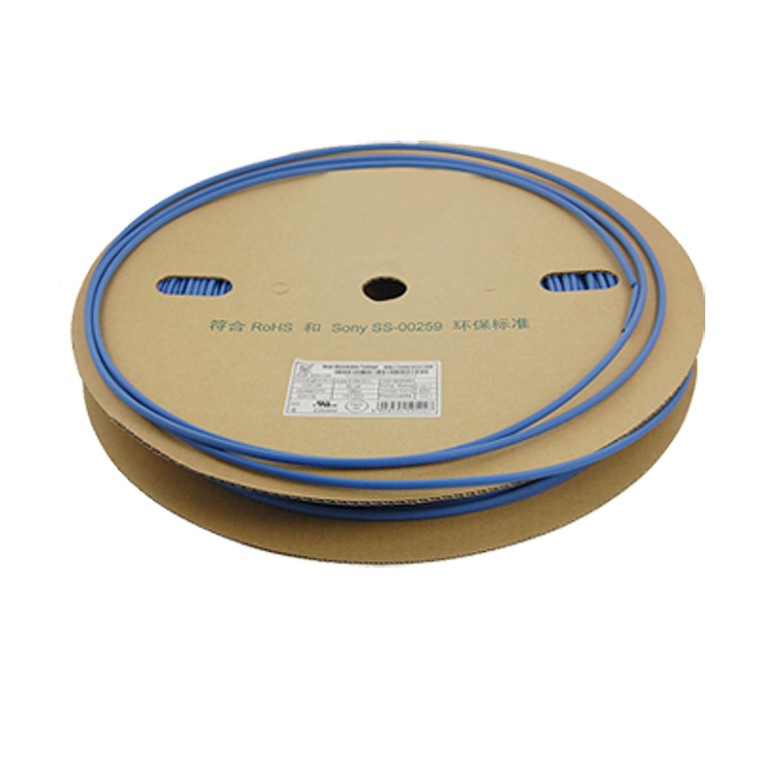 4.5mm Diameter Blue Polyolefin Heat Shrinkable Tube 100M