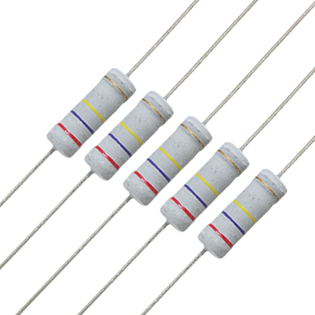 10 x 3W 500V 270K ohm 270KR Metal Oxide Film Resistors