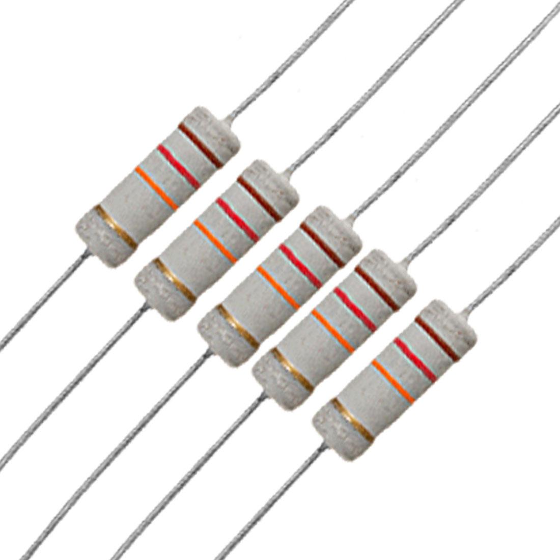10 x 3W 500V 12K ohm 12KR Metal Oxide Film Resistors
