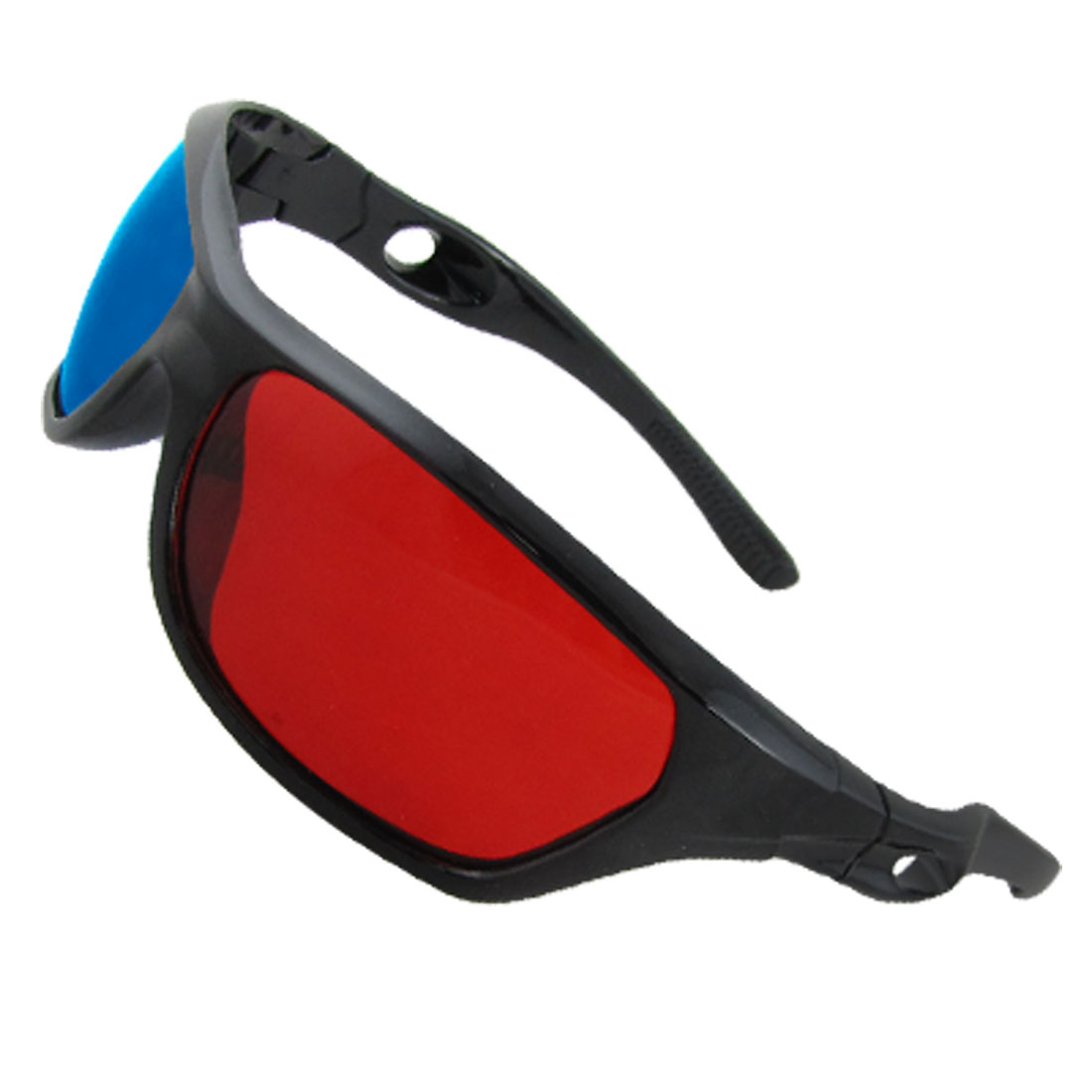 Unisex Plastic Frame Red Cyan 3D Dimensional Glasses for Movie Game