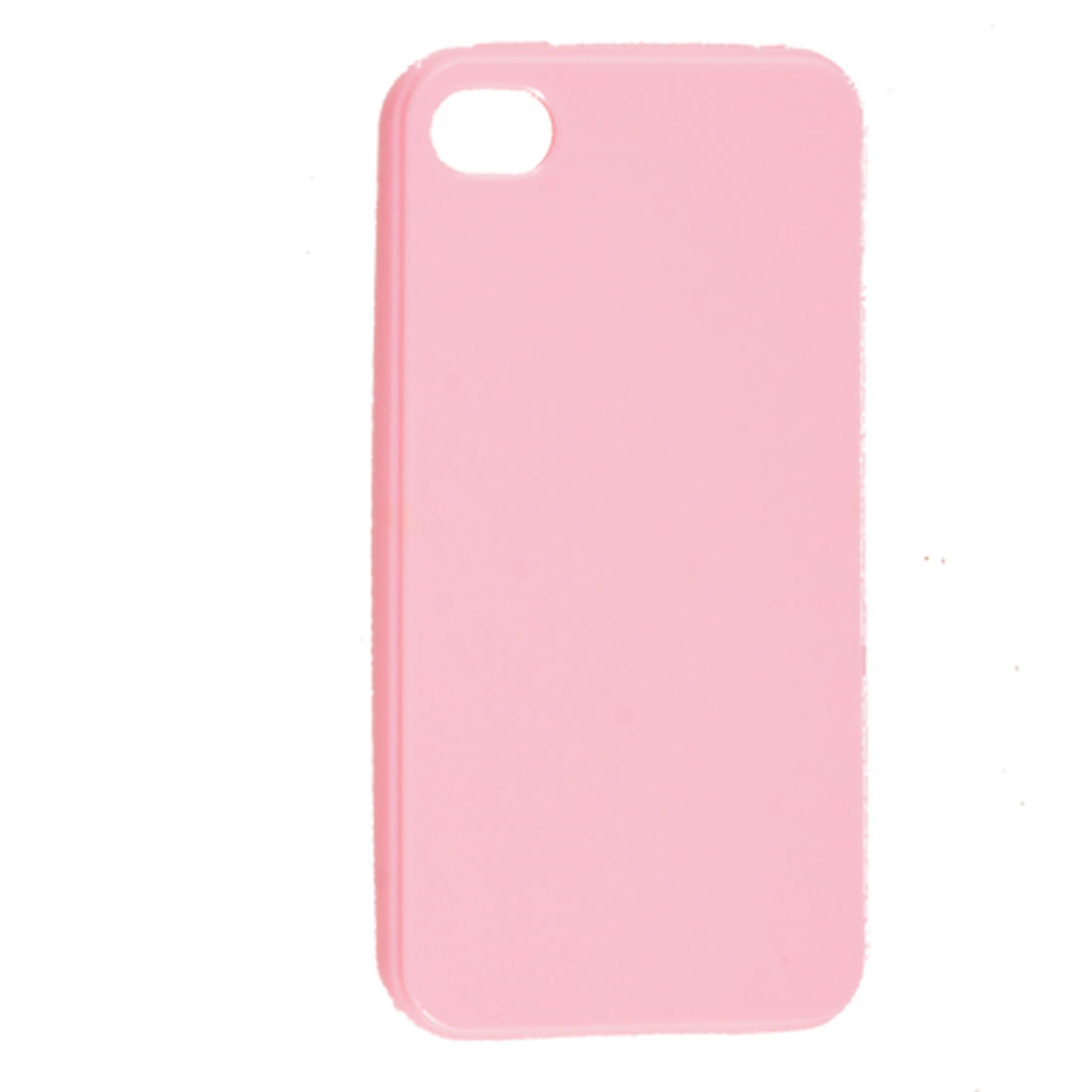 Light Pink TPU Plastic Protector Cover for Apple iPhone 4 4G
