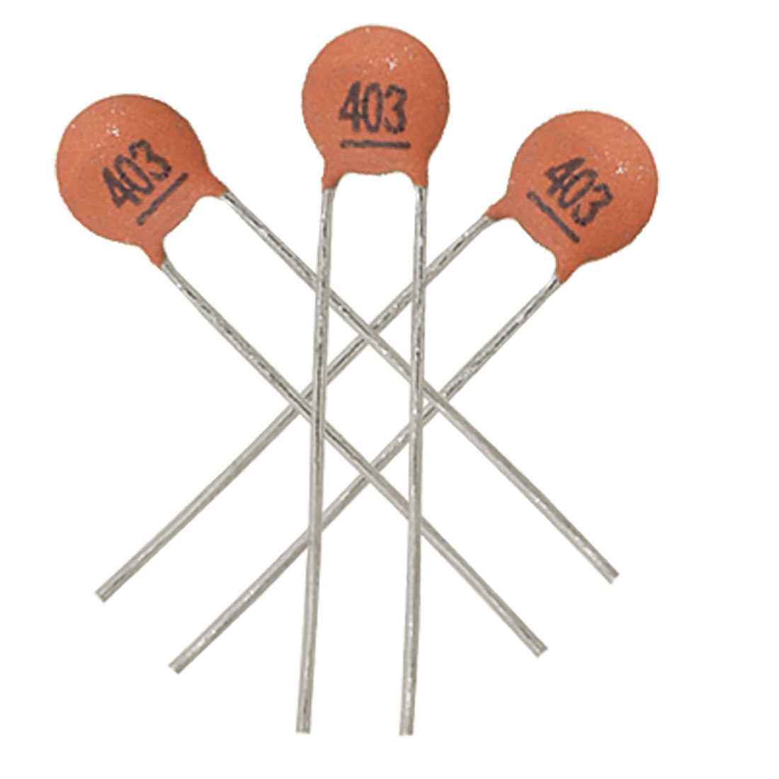 50 x 40000pF 50V DIP Low Voltage Ceramic Disc Capacitors