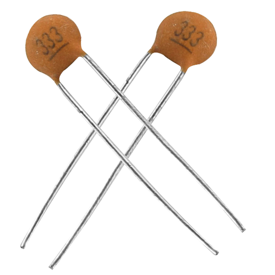 100 x 0.033uF 50V DIP Low Voltage Ceramic Disc Capacitors