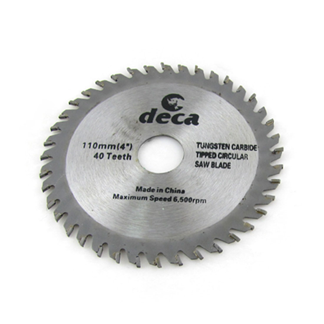"Woodworking 4"" 40 Tooth Tungsten Carbide Tipped Metal Circular Saw Cutter"