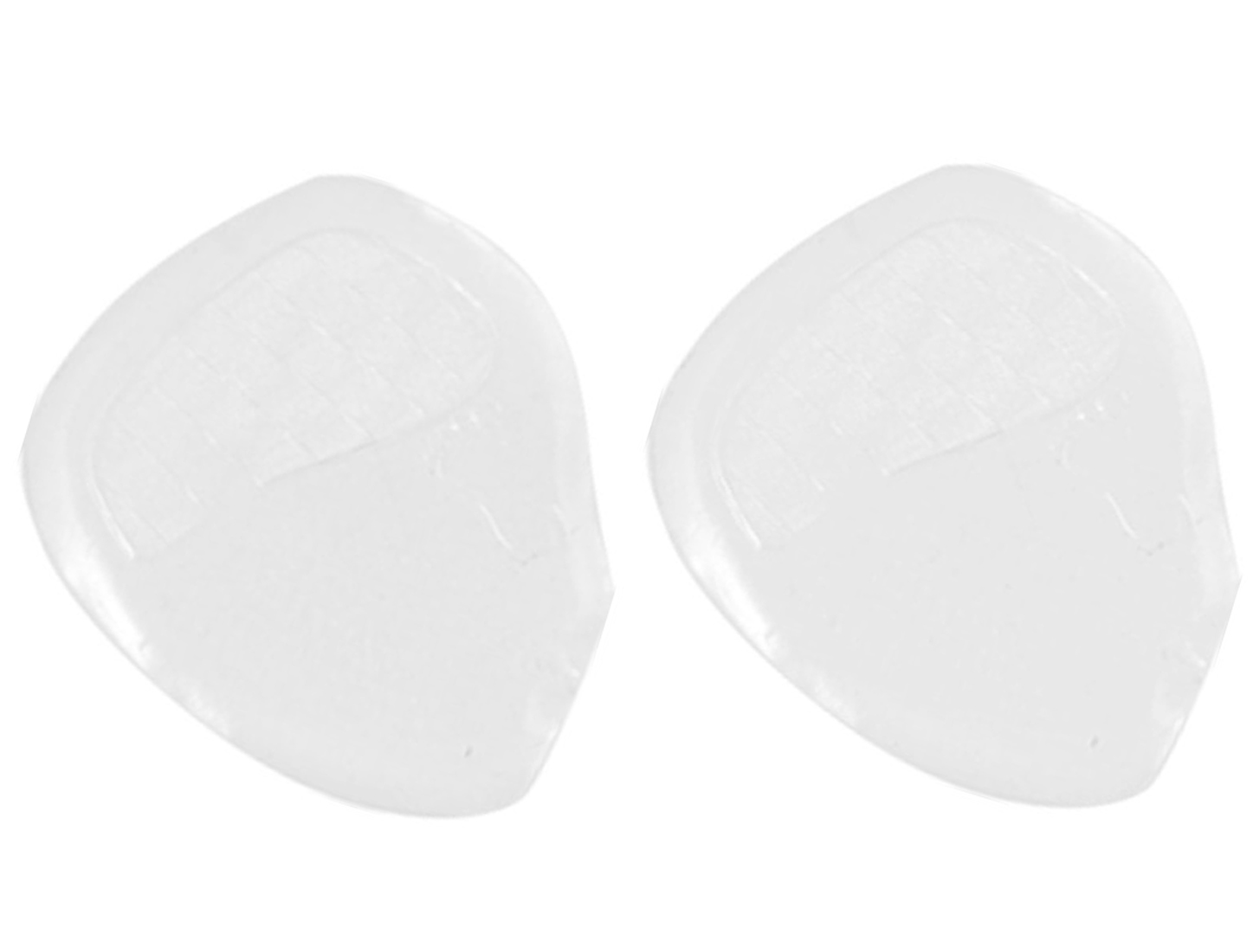 1 Pair Transparent Silicone Gel Ball Cushion Shoes Inserts Insoles Pads