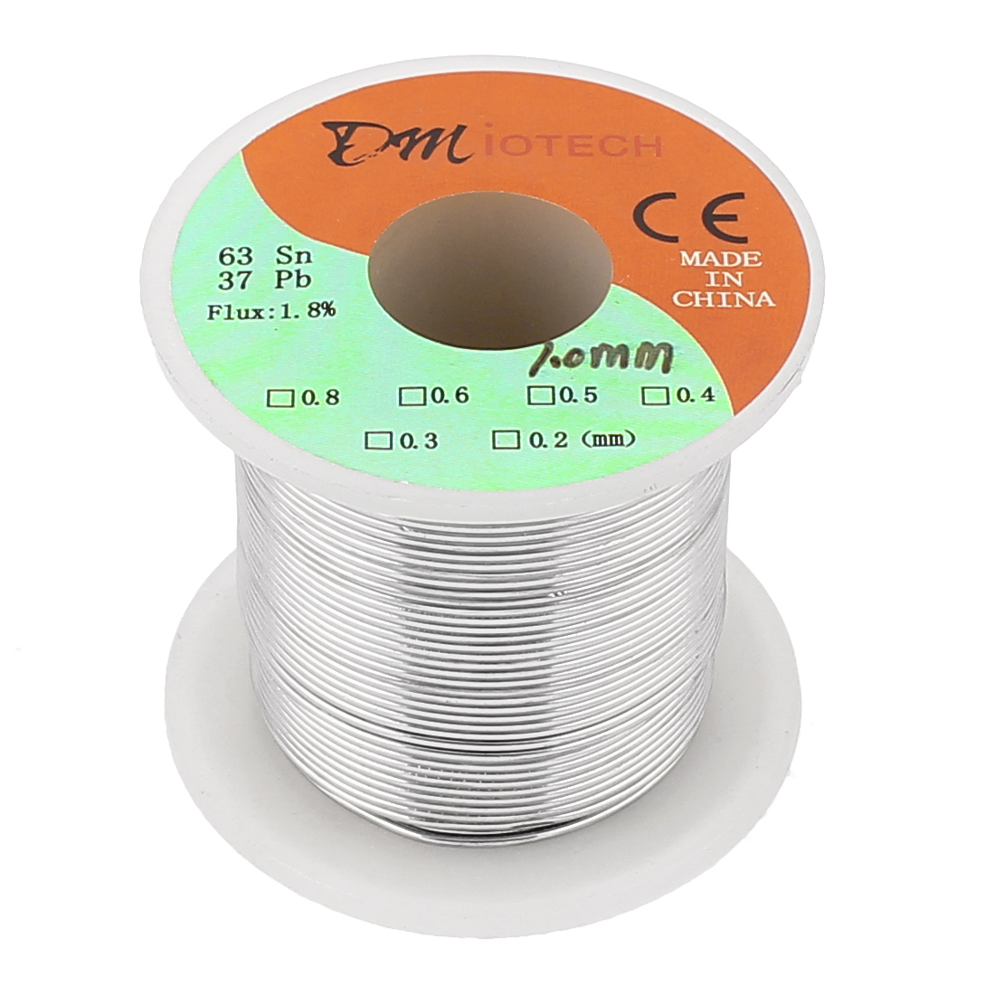 1mm 200G 63/37 Rosin Core Flux Tin Lead Roll Soldering Solder Wire Spool