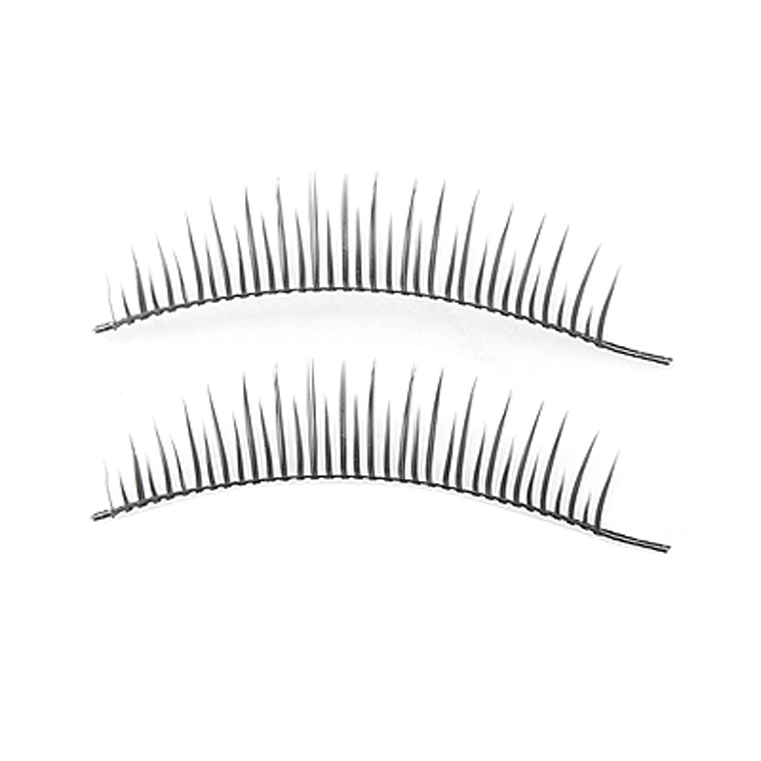 10 Pairs Women Eye Making Up Tool Black Curl False Eyelashes