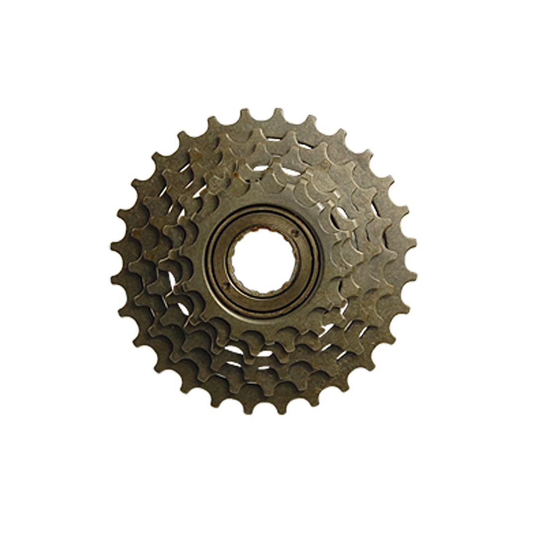 Bike Bicycle Replacement 6 Speed Type Metal Sprocket Wheel Freewheel