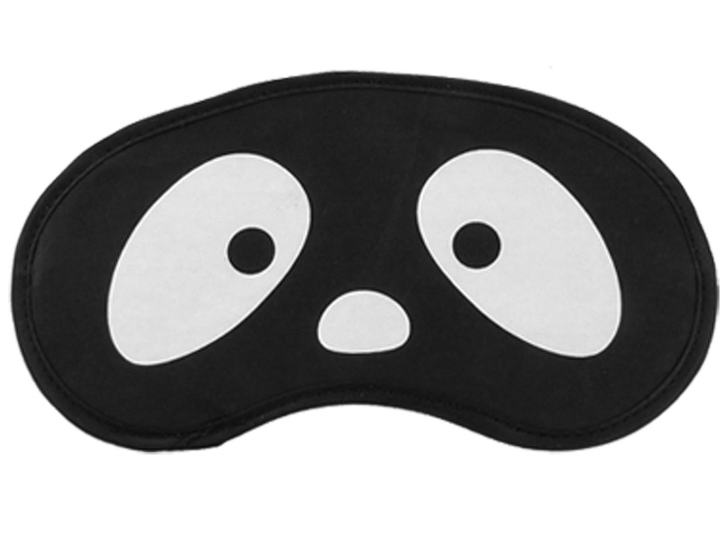 Elastic Strap Cartoon Eye Print Travel Sleep Eyeshade Mask Cover Blinder