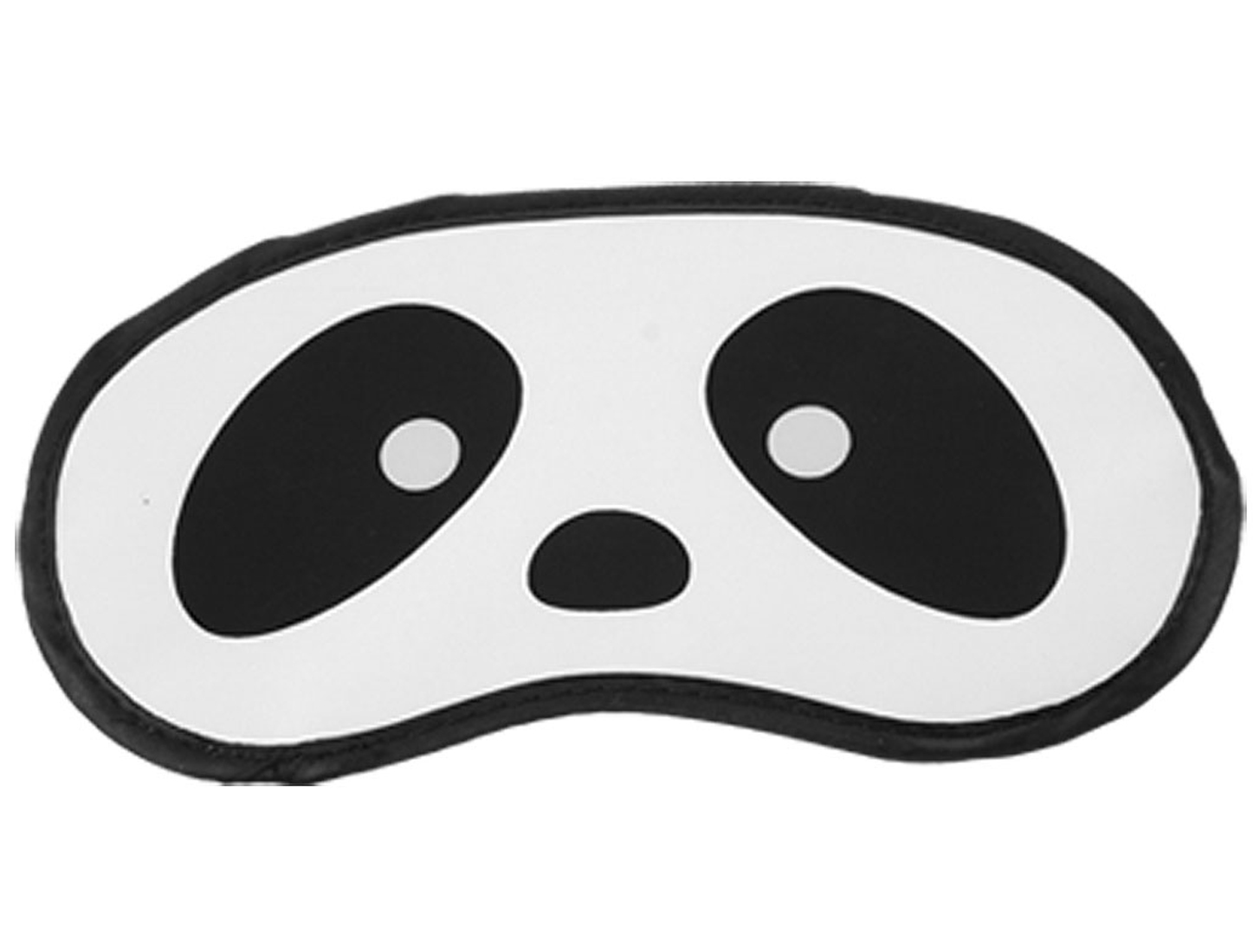 Black White Penda Eyes Print Sleeping Eye Shade Cover Mask Blinder
