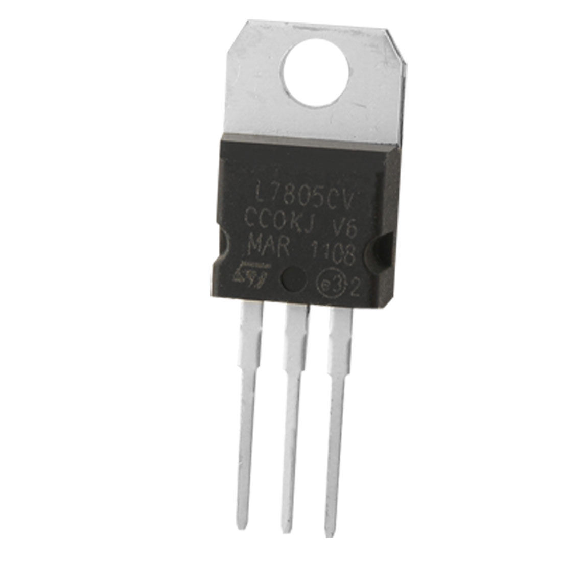 2 Pcs 3 Terminals 1.5A 5V L7805CV Postive Voltage Regulators