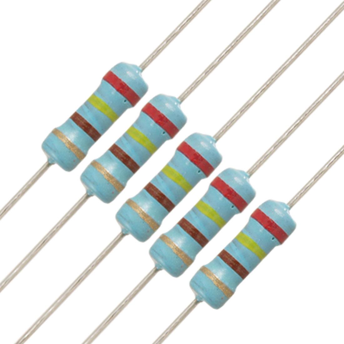 20 x 1/2W Watt 240 ohm 240R Carbon Film Resistor 0.5W