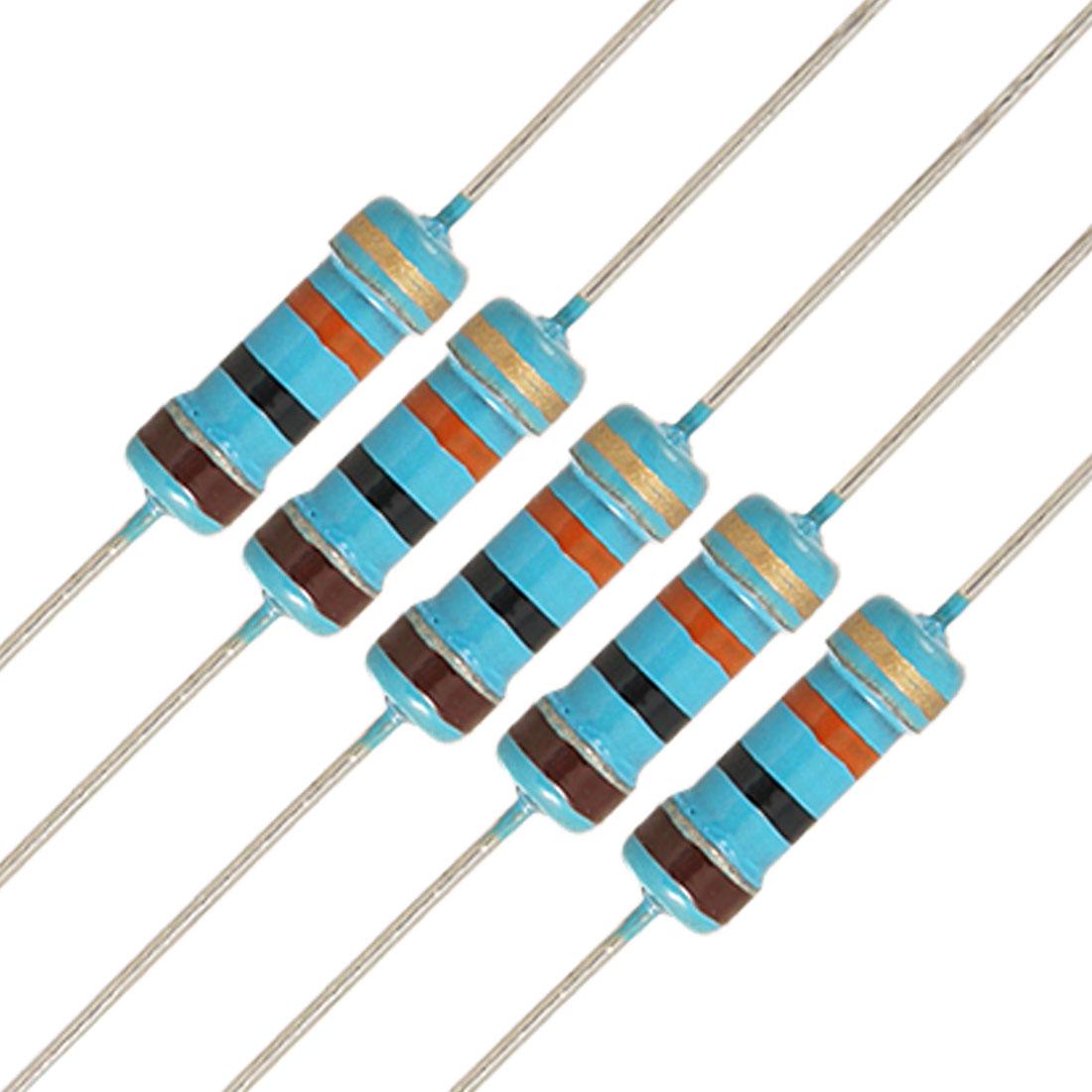 20 x 1/2W Watt 10K ohm 10KR Carbon Film Resistor 0.5W