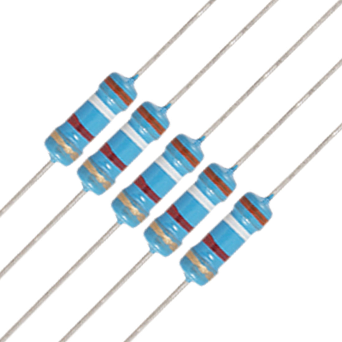 20 x 1/2W Watt 3.9K ohm 3K9 Carbon Film Resistor 0.5W