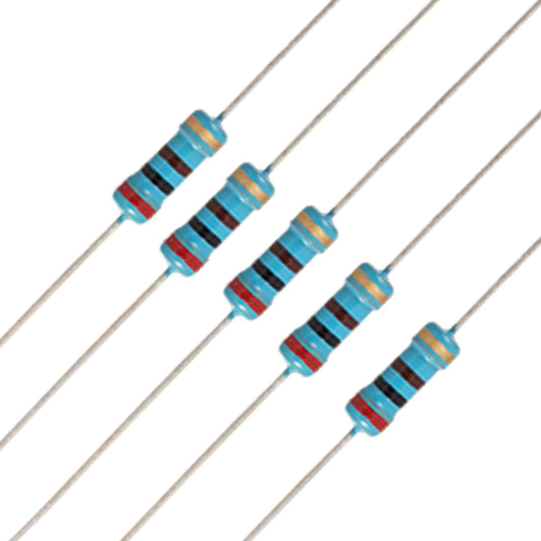 20 x 1/2W Watt 200 ohm 200R Carbon Film Resistor 0.5W