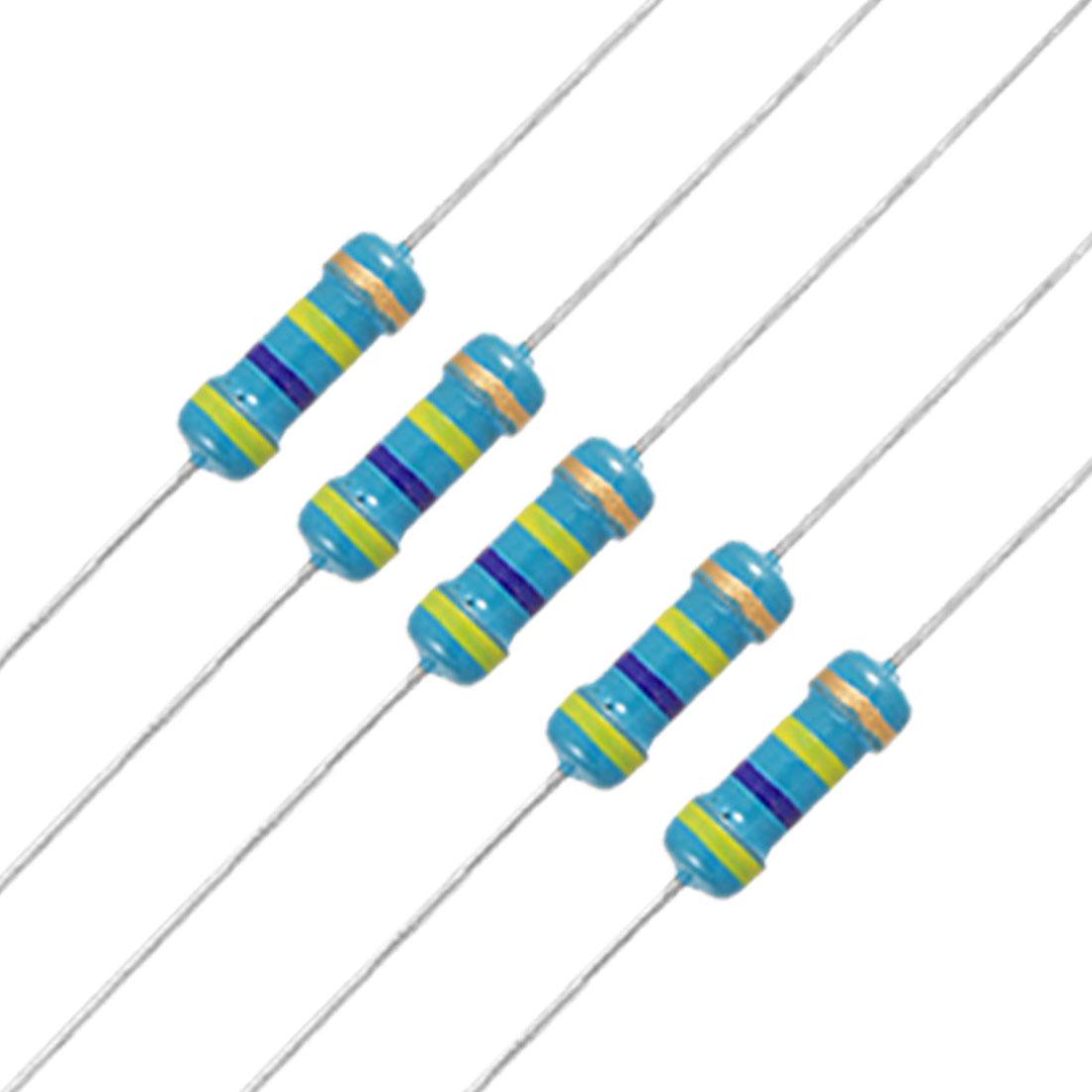 20 x 1/2W Watt 470K ohm 470KR Carbon Film Resistor 0.5W