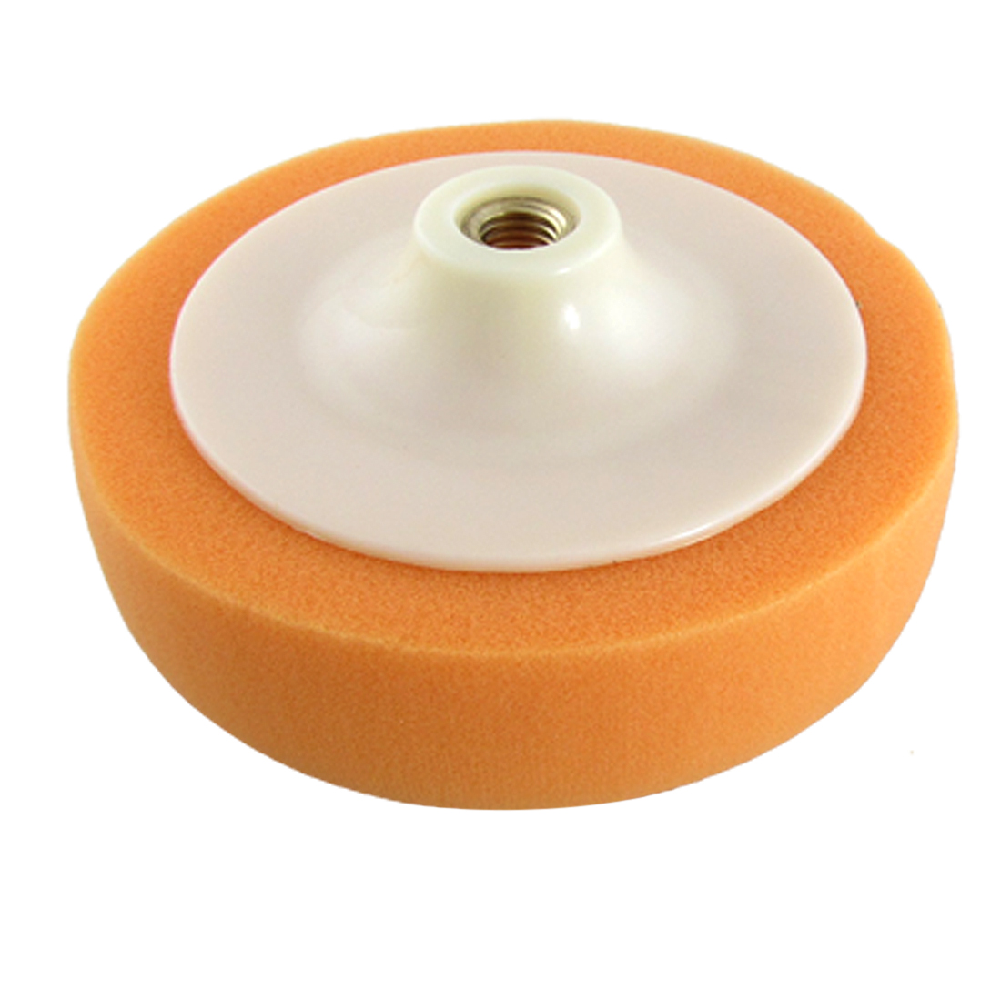 "6"" Orange Car Sponge Polishing Ball Buffing Pad Polisher for Car Washing Neu"
