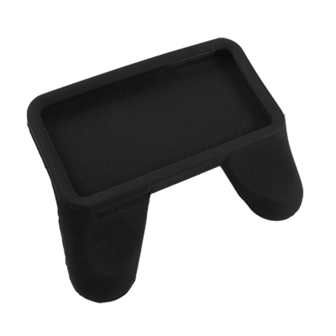 Black Soft Silicone Game Control Handle Grip Case for iPhone 4 4G