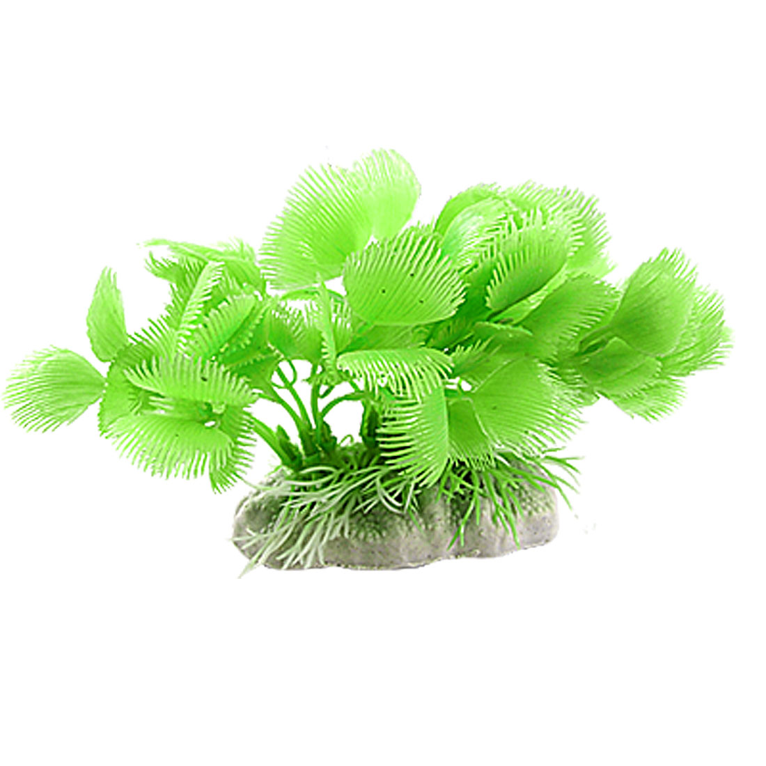 Aquarium Fish Tank Ornament Artificial Green Plastic Plants