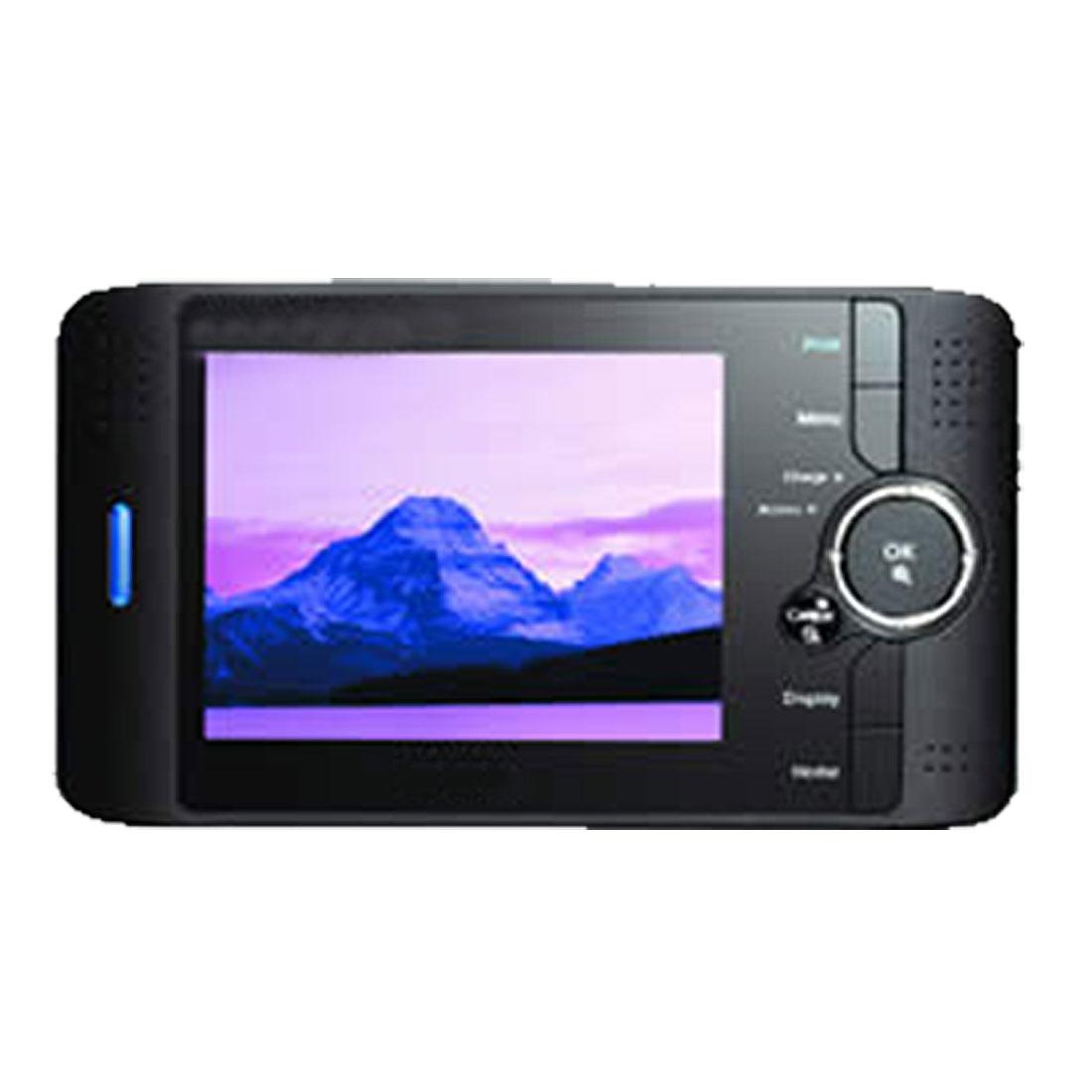 "2 Pcs Transparent 3.8"" LCD Screen Guard Film for MP4 Camera Phone"