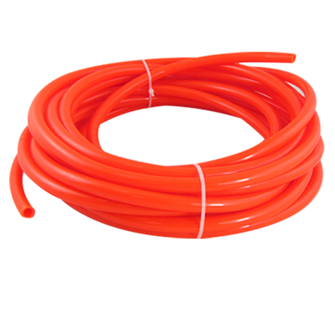 10M 32.8Ft 10mm x 6.5mm Pneumatic Air PU Hose Pipe Tube Orange Red