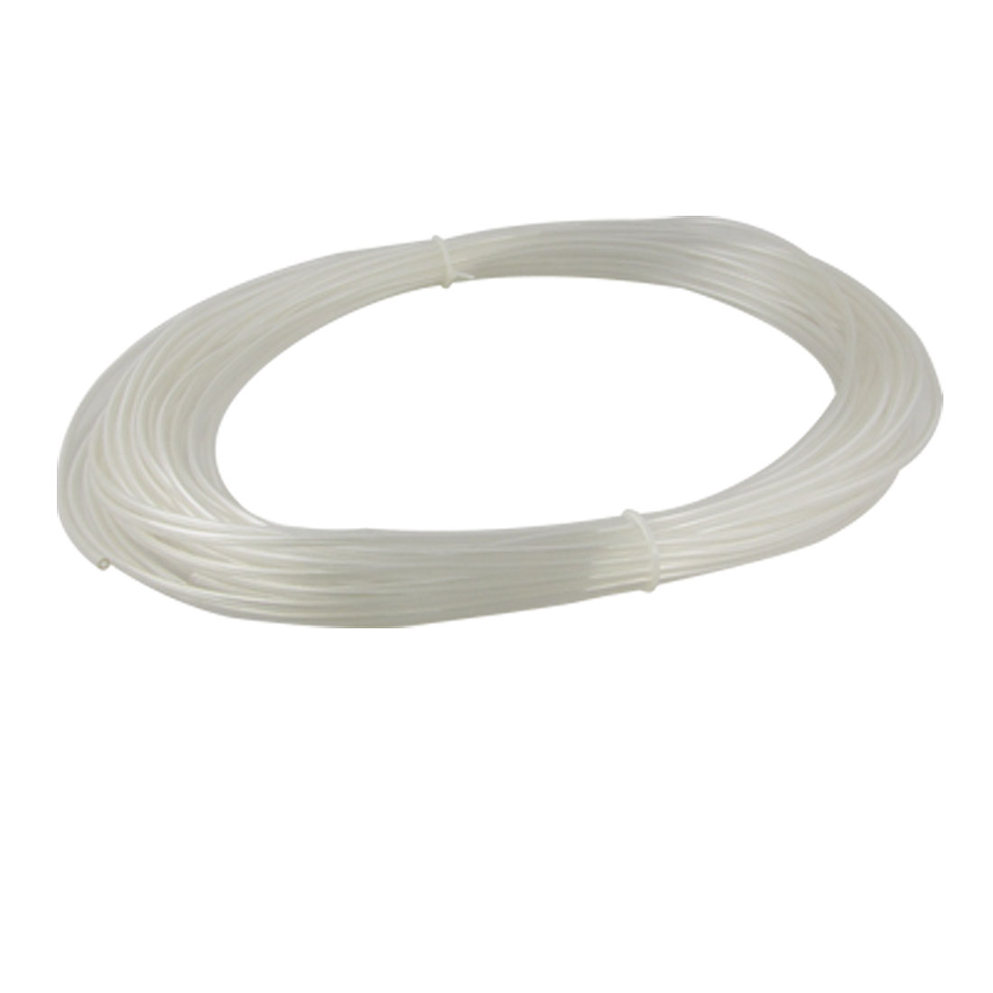 25M 82Ft 4mm x 2.5mm Pneumatic Air PU Hose Pipe Tube Clear