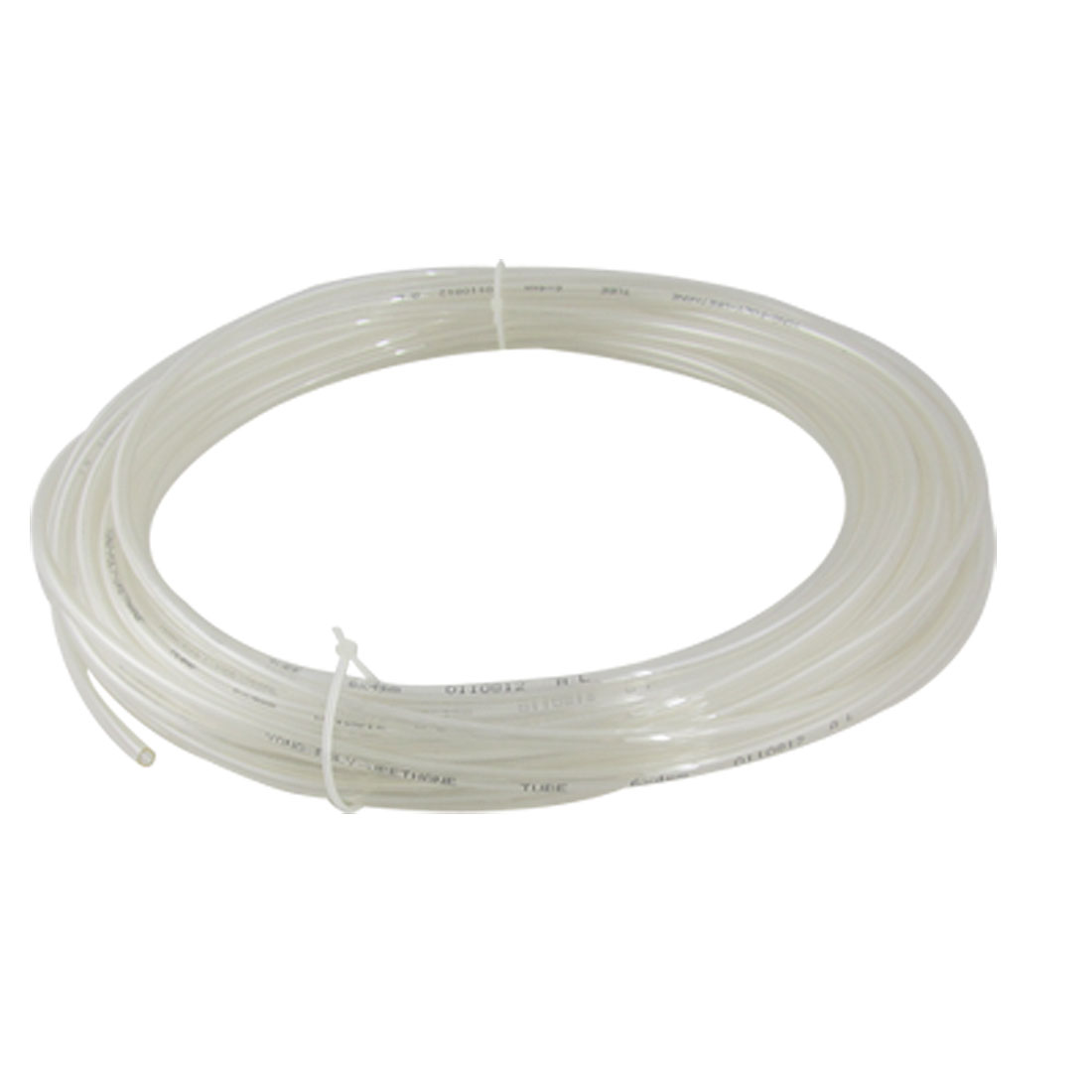 15M 49.2Ft 6mm x 4mm Clear Pneumatic Air PU Hose Pipe Tube