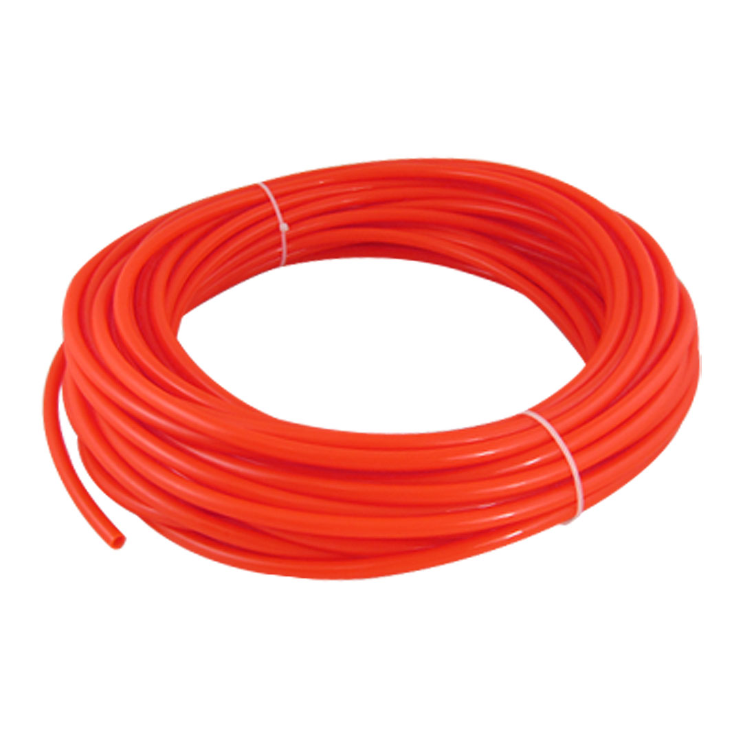 Orange Red 25M 82Ft 8mm OD 5mm ID Polyurethane PU Air Tube Hose