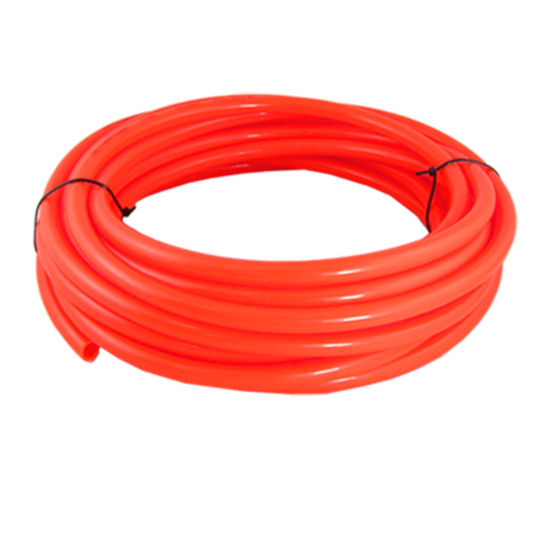 Orange Red 10M 32.8Ft 12mm OD 8mm ID Polyurethane PU Air Tube Hose