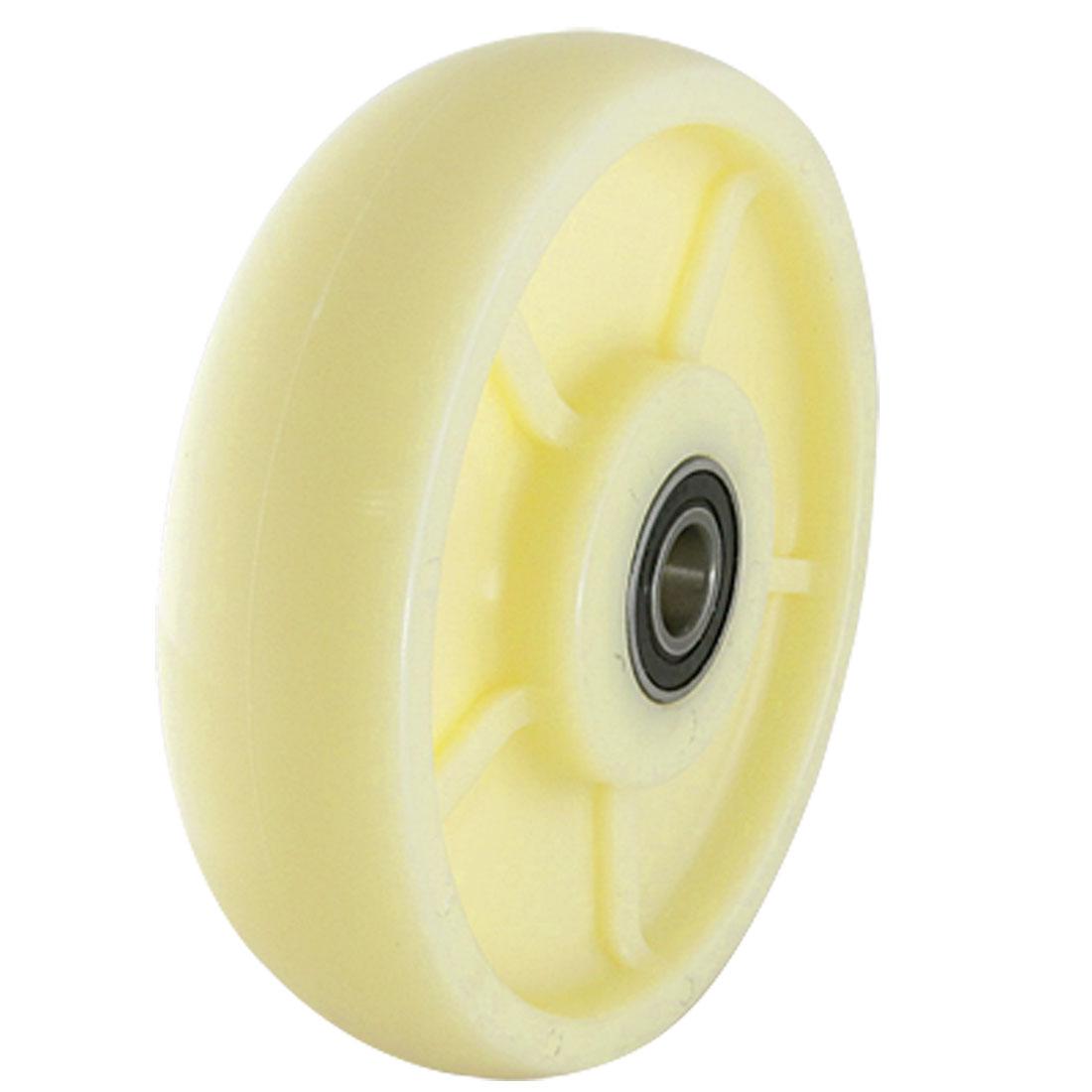 "7.4"" Diameter Pallet Truck Replacement Nylon Rear Steer Wheel"