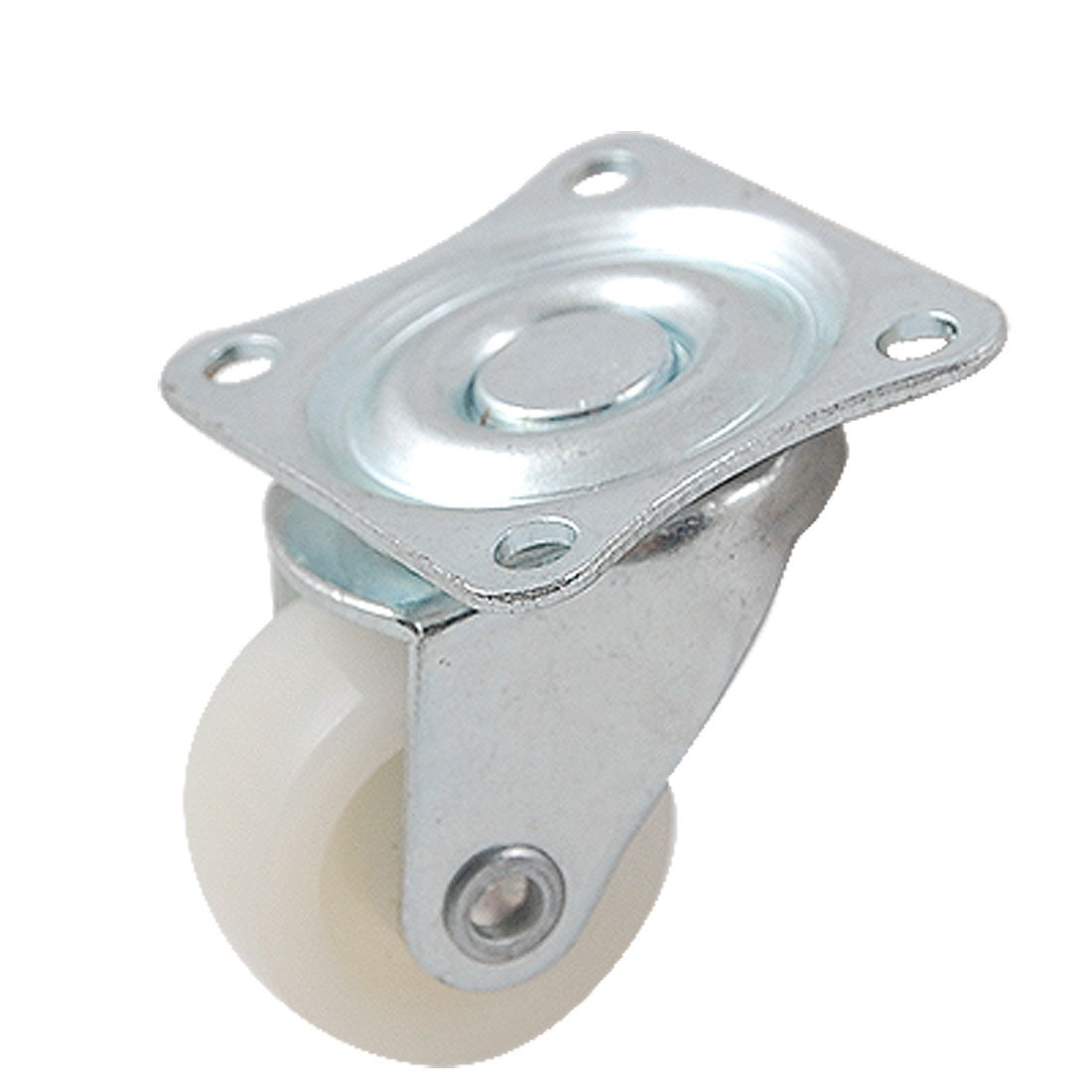 2 Pcs 25mm Dia Light Duty Ball Bearing Swivel Flat Plate Industrial Caster