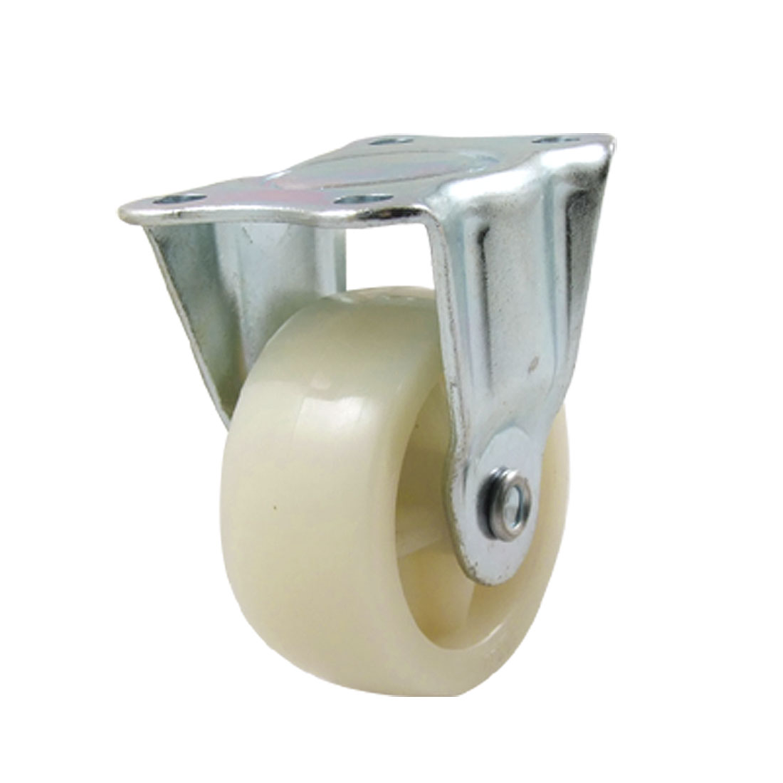 Fixed Type Flat Plate 2 Inch grey white PP Wheel Rigid Caster
