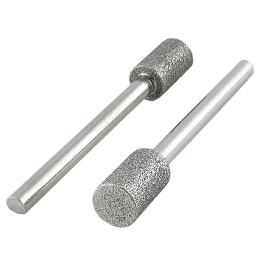 2 Pcs Electric Nail File Drill Small Prepper Diamond Barrel Bits 3 x 6mm
