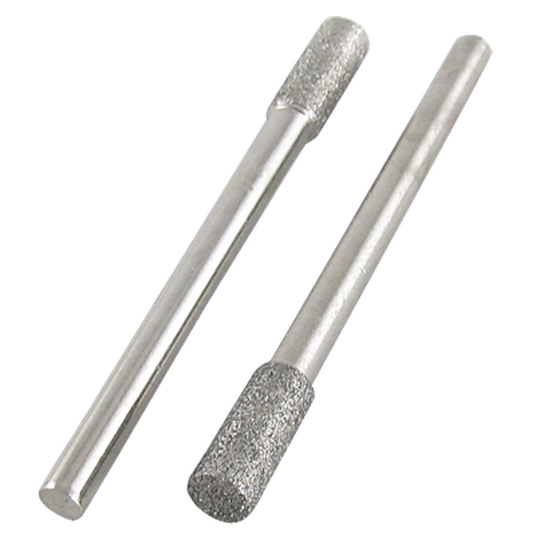 2 Pcs 4mm Cylinderical Ball Nose Diamond Mounted Point