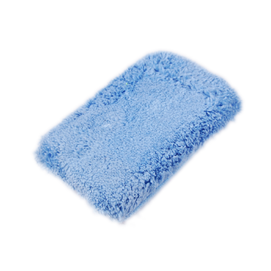 Microfiber Car Washing Duster Sponge Dry Cleaning Pad Blue New